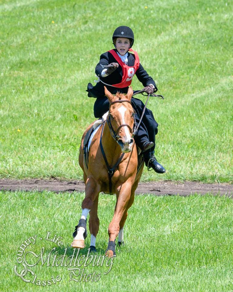 Bernadette winning race