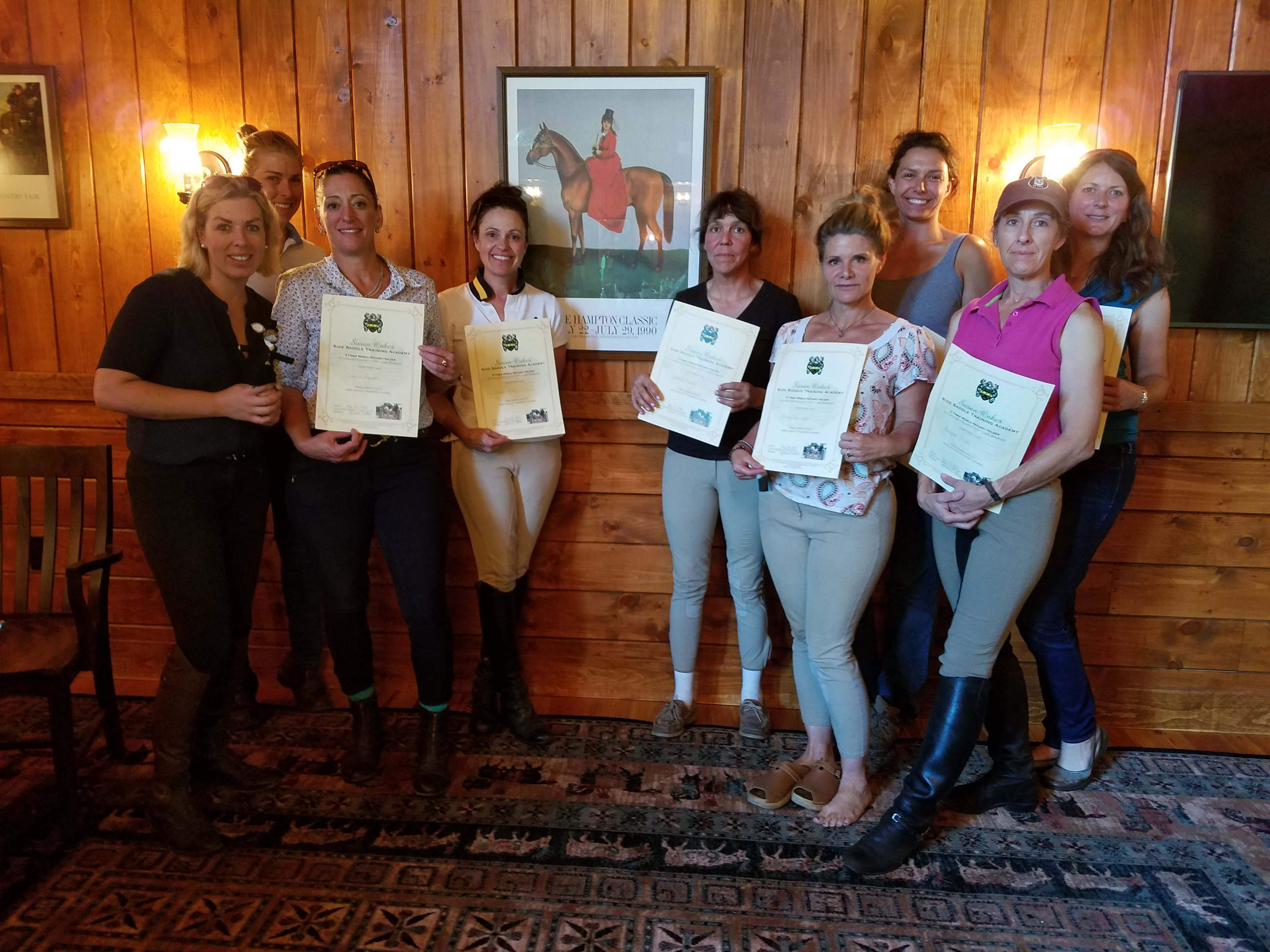 THE SUSAN OAKES SIDE SADDLE TRAINING ACADEMY