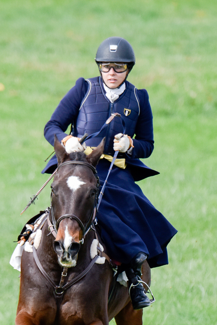 PENNSYLVANIA HUNT CUP- MRS. FORD B. DRAPER SIDE SADDLE RACE